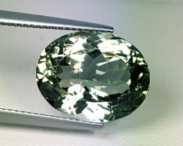 "12.45 ct "" Top Quality  Gem "" Superb Oval Cut Green Amethyst"