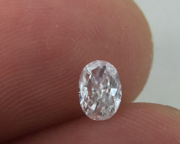 Stunning IGL Certified $574 Natural 0.35ct. Oval White Diamond