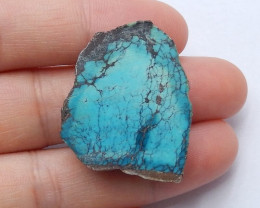 Natural nugget Turquoise Gemstone Cabochon,turquoise specimen H3758