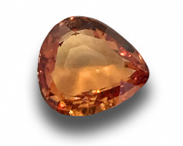 Natural Unheated Orange Sapphire |Loose Gemstone| Sri Lanka - New