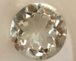 5.27ct Shimmering  Cut Green Amethyst  (Prasiolite) - NO RESERVE AUCTION