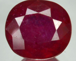 Natural Red Ruby Oval Mozambique 2.41 Cts