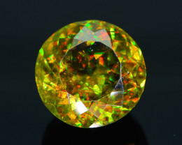 Rare AAA Fire 2.78 ct Chrome Green Sphene Sku-29