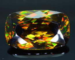 Imperial Sphene 11.00 ct AAA Brilliance Mozambique Sku-30