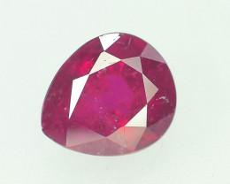 AAA Color 1.60 ct Rubelite Tourmaline~M