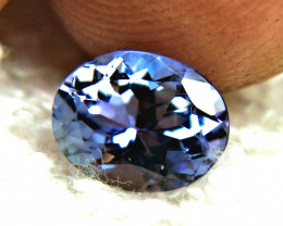 CERTIFIED - 1.93 Carat VVS/VS Blue African Tanzanite - Gorgeous