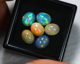 9.22ct Ethiopian Welo Opal 10 x 8 mm Lot E53