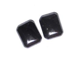8.09cts Matching Hematite Octagonal Cabochon Discs