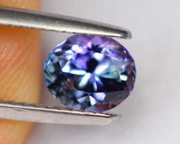 1.13cts Natural Violet Blue Tanzanite / DE302