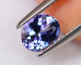 1.13cts Natural Violet Blue Tanzanite / DE304