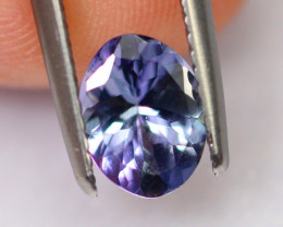 1.10cts Natural Violet Blue Tanzanite / DE306