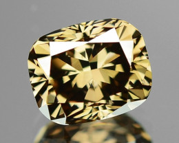 0.81 Cts UNTREATED NATURAL FANCY PINKISH BROWN COLOR DIAMOND