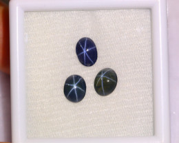 3.65cts Natural 6 Rays Blue Star Sapphire Parcel / F02