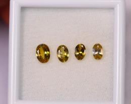 1.92cts Natural Rare Yellow Tanzanite Lot / F04