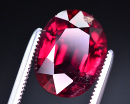 Superb Color 5.35 Ct Natural Rhodolite Garnet. ARA