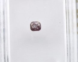 Diamant rose 0,12 carats - Natural Pink Diamond AIG Certified