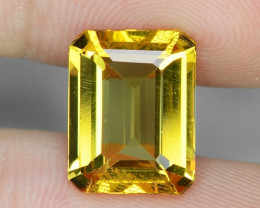 3.68 Cts NATURAL AMAZING RARE GOLDEN YELLOW BERYL LOOSE GEMSTONE