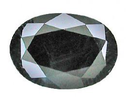 0.97 ct Oval Blue Sapphire (Darkish Blue)