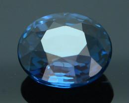 AAA Grade 1.24 ct Cobalt Tanzanian Blue Spinel SKU.6