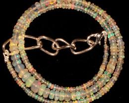 37 Crt Natural Ethiopian Welo Fire Opal Beads 57