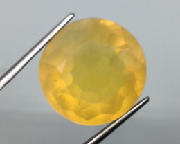 19.19 Carat Fire Opal Untreated Luminecent Exquisite Color Cut and Quality
