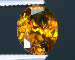 Imperial Sphene 1.97 ct AAA Brilliance Mozambique Sku-30