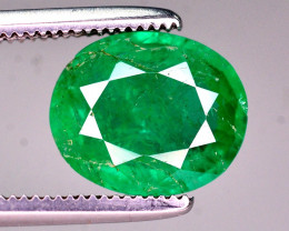 Amazing Color 1.75 Ct Natural Panjsher Emerald. ARA