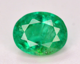 AAA Color 0.75 Ct Natural Panjsher Emerald. ARA
