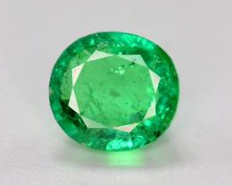 Top Grade 1.15 Ct Natural Panjsher Emerald. ARA