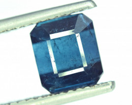 NR Auction - 3.75 Cts Emerald Cut Natural Indicolite Tourmaline from Afghan