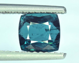NR Auction - 2.15 Cts Cushion Cut Natural Indicolite Tourmaline from Afghan