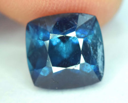 NR Auction - 2.20 Cts Cushion Cut Natural Indicolite Tourmaline from Afghan