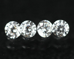 2.4mm D-F Color VS-Clarity Natural Loose Diamond