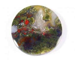 75.5Cts Beautiful Natural Moss Agate Pendant