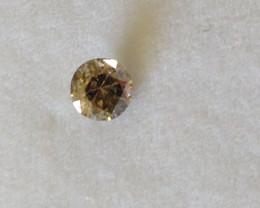 Fancy Intense Brown Diamond 0.46ct.