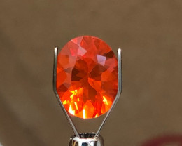*NR* 1.85 ct Fire Opal - Brazilian AAA Color $399