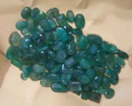 250cts  Zambian Emerald Parcel  , 100% Natural Gemstones