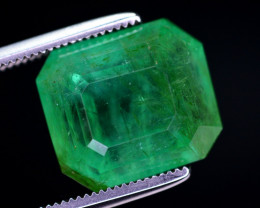 7.70 Ct Ravishing Color Natural Emerald  From Afghanistan