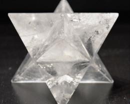 Merkaba - Merkabah - Quartz blanc - Cristal de roche - Merkabah Star - 515