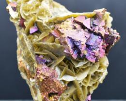 Chalcopyrite Sidérite - 336 grammes - Kaiwu Mine, Hezhang Co., Chine