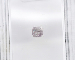 Diamant rose 0,14 carats - Natural Pink Diamond AIG Certified