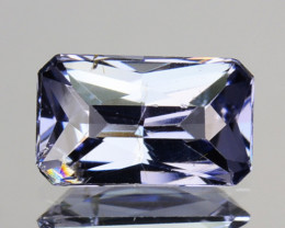 Top Luster Untreated Natural Blue Spinel Octagon Srilanka