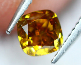 0.32Ct Untreated VS Fancy Brownish Orange Color Diamond A0301