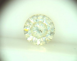 0.41ct Light Yellow  Diamond , 100% Natural Untreated