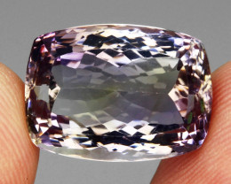 19.95ct.  Antique Cut 100%  Natural Top Bi Colors Purple Yellow Ametrine
