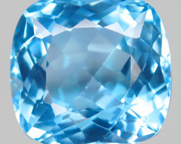 27 .22 ct. 100% Natural Top Sky Blue Topaz Brazil