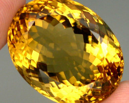 29.88 ct. 100% Natural Unheated Top Yellow Golden Citrine Brazil