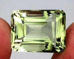 23.23 ct. 100% Natural Top Nice Green Amethyst Brazil