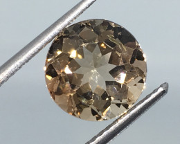 3.60 Carat VS Topaz Champagne Color - Beautiful Clarity and Flash Quality !