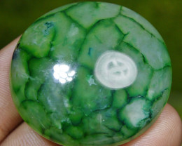 96.85 CT HUGE Beautiful GREEN GOBLIN Dragon Skin Agate